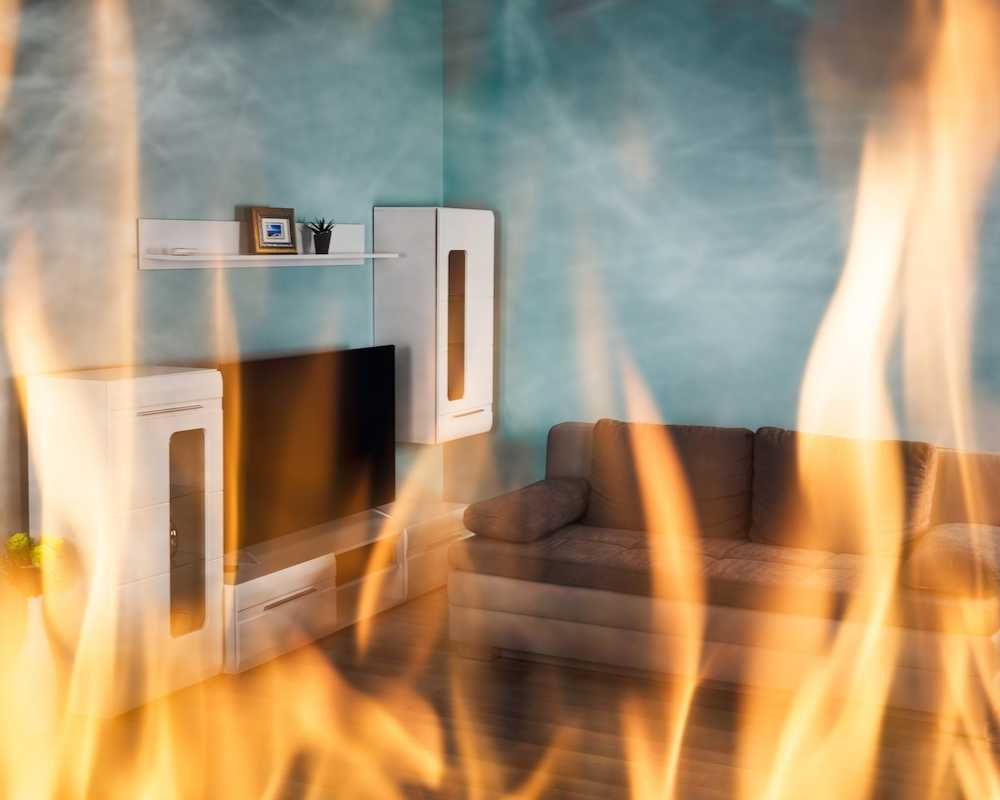 The Most Common Places That Fires Occur in the Home
